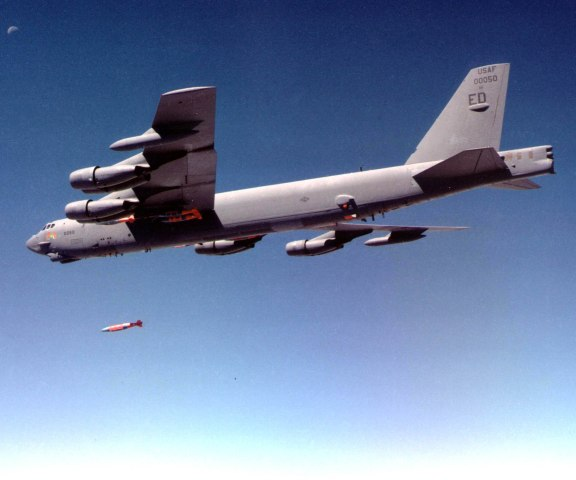 B-52 Bomber: Photo By US Air Force