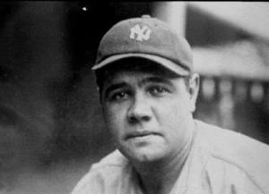 The Great Bambino, George Herman Ruth, photo courtesy of PDImages.com